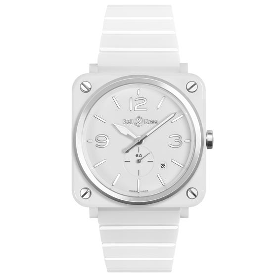 BELL & ROSS Watch Replica BR S WHITE CERAMIC BRS-WH-CES