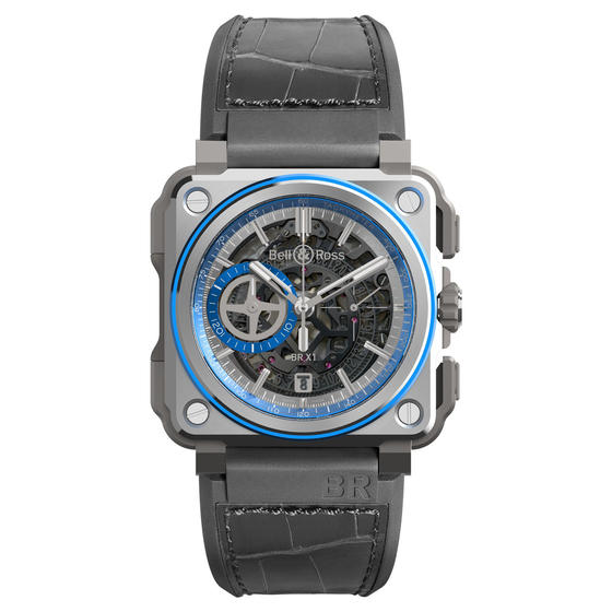 BELL & ROSS Watch replica BR-X1 HYPERSTELLAR BRX1-AL-TI-BLU