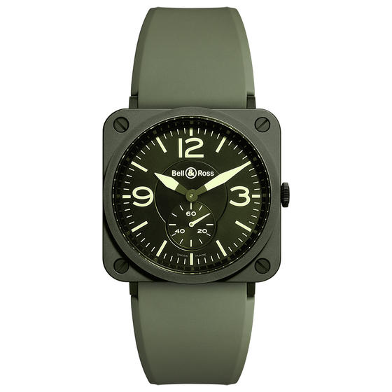 BELL & ROSS Watch replica BR S MILITARY CERAMIC