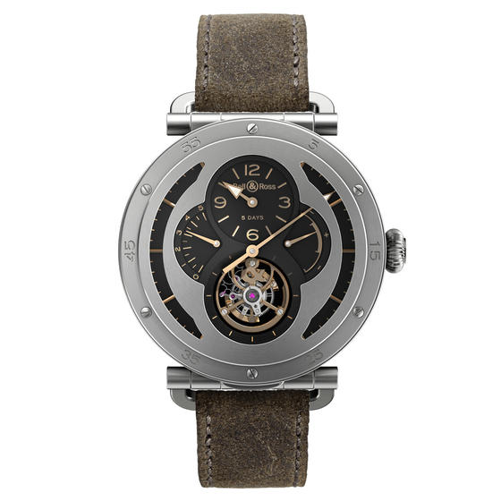 BELL & ROSS Watch Replica WW2 MILITARY TOURBILLON Watch