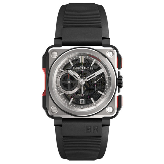 Bell & Ross Watch Replica BR-X1 SKELETON CHRONOGRAPH BRX1-CE-TI-RED
