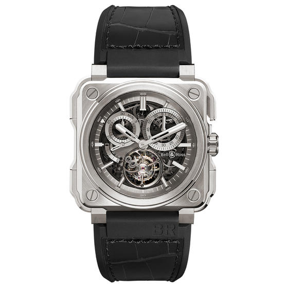 BELL & ROSS Watch Replica BR-X1 TOURBILLON TITANIUM BRX1-CHTB-TI