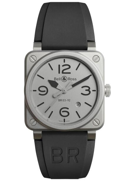 Buy 2018 Bell & Ross Replica BR 03-92 Horoblack BR0392-GBL-ST/SRB watch