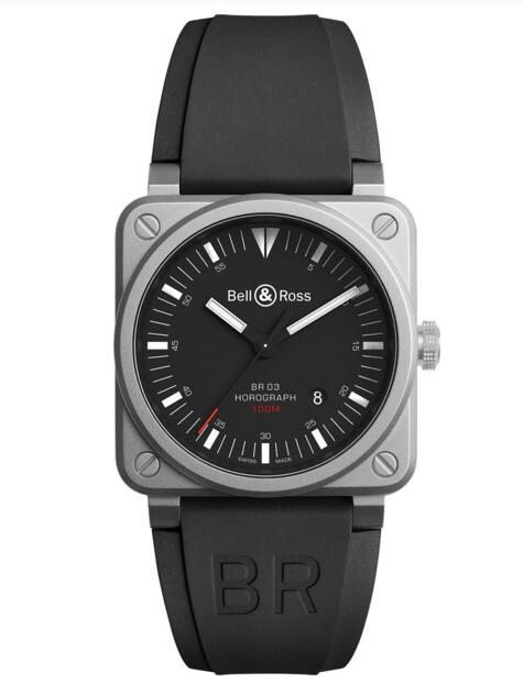 Best Bell & Ross Replica BR 03-92 HOROGRAPH BR0392-HOR-BLC/SRB watch