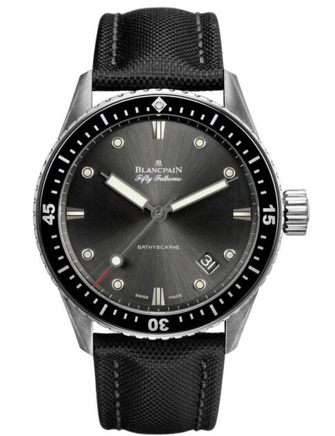 Blancpain replica Fifty Fathoms Bathyscaphe 5000-1110-B52 A watch