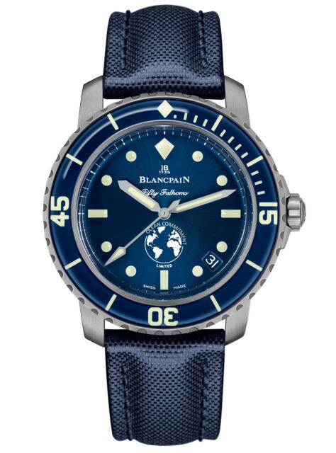 Blancpain replica Fifty Fathoms Ocean Commitment III 5008-11B40-52A watch