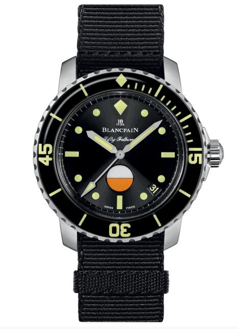 Blancpain replica Fifty Fathoms MIL-SPEC Only Watch 2017 5008A-1130-NABA watch