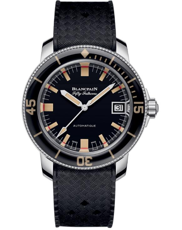 best Blancpain Fifty Fathoms Barakuda 5008B-1130-B52A swiss watches