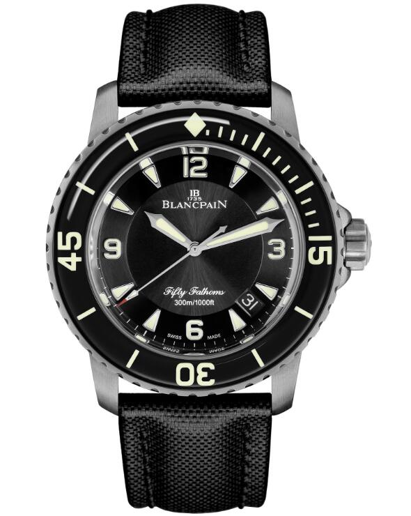 cheap Blancpain Fifty Fathoms Automatique 5015-12B30-B52A watches for men