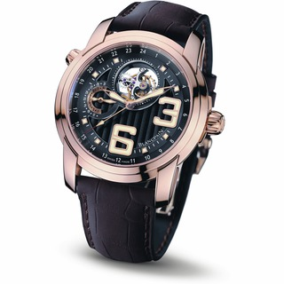 Copy Blancpain L-Evolution Tourbillon GMT 8 Days Red Gold 8825-3630-53B Replica Watch Review