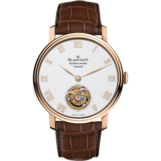 Replica Blancpain Le Brassus Carrousel Minute Repeater Red Gold 00232-3631-55B Watch
