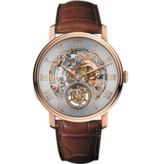 Replica Swiss Luxury Replica Blancpain Le Brassus Carrousel Minute Repeater Red Gold 00233-3634-55B Replica Watch