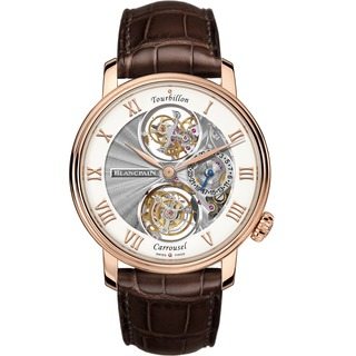 Replica Swiss Luxury Replica Blancpain Le Brassus Tourbillon Carrousel Red Gold 2322-3631-55B Replica Watch