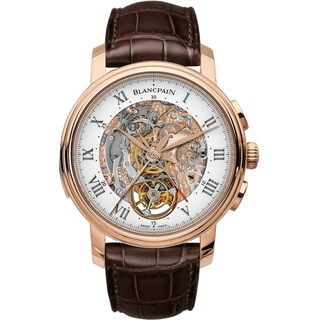 Replica Blancpain Le Brassus Carrousel Minute Repeater Flyback Chronograph Red Gold Watch