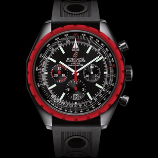 Discount Breitling Chrono-Matic Blacksteel Black PVD Steel watch