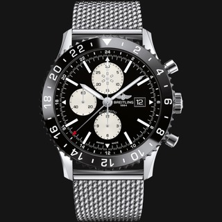 Discount Breitling Chronoliner Chronograph Steel watch Automatic