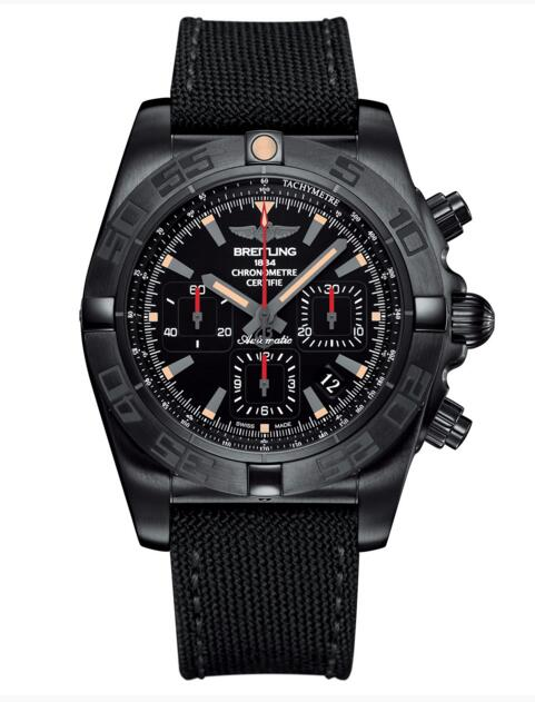 breitling mens watches Replica Chronomat 44 Blacksteel