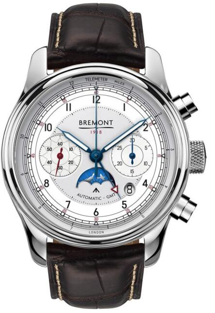 BREMONT 1918 STAINLESS STEEL LIMITED EDITION watch for sale