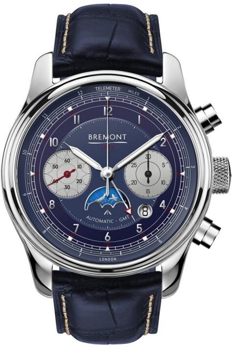 BREMONT 1918 WHITE GOLD LIMITED EDITION watch Price