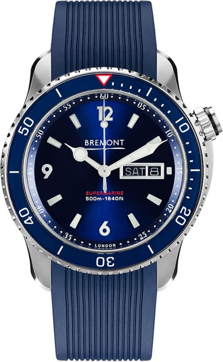 BREMONT SUPERMARINE S500 BLUE DIAL 2018 watches price