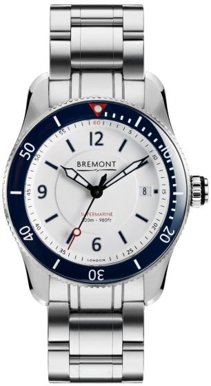 BREMONT S300 WHITE BRACELET S300-WH-BR-D watches Price