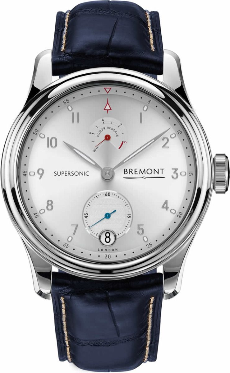 BREMONT SUPERSONIC WHITE GOLD replica watches