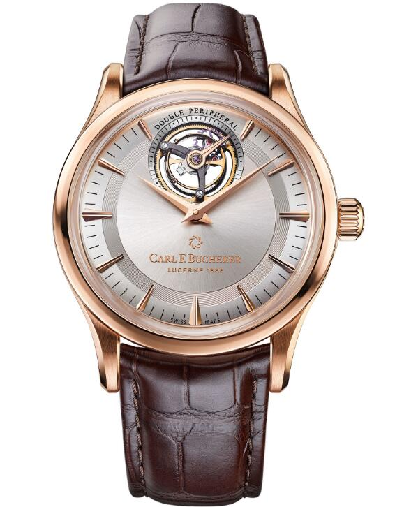 Carl F. Bucherer Heritage Tourbillon DoublePeripheral Limited Edition 00.10802.03.13.01 fake