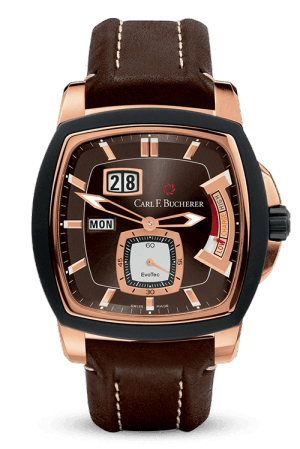 Discount Carl F. Bucherer PATRAVI EVOTEC POWERRESERVE 00.10627.15.93.01 Replica watch