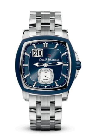 Discount Carl F. Bucherer PATRAVI EVOTEC BIGDATE 00.10628.13.53.21 Replica watch