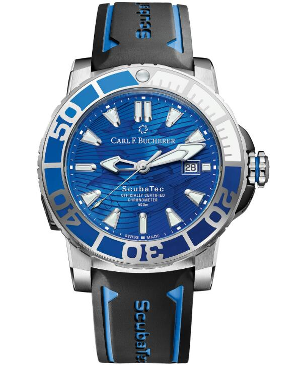 replica Carl F. Bucherer Patravi ScubaTec 00.10632.30.53.99 Only Watch 2019