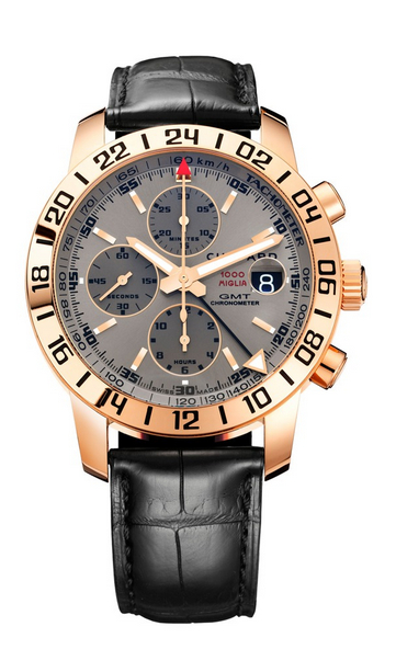 Replica Chopard Mille Miglia GMT Chrono Rose Gold 161267-5003 replica Watch