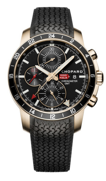 Replica Chopard Mille Miglia GMT Chronograph 2012 Rose Gold 161288-5001 replica Watch