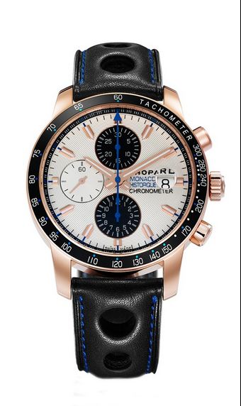 Replica Chopard Grand Prix de Monaco Historique Chronograph 2010 Rose Gold 161275-5003 replica Watch