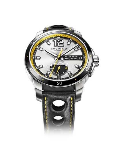 Replica Chopard Grand Prix de Monaco Historique Power Control 2014 Titanium 168569-3001 replica Watch