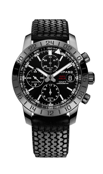 Replica Chopard Mille Miglia GMT Chrono Black DLC Steel 168992-3023 replica Watch