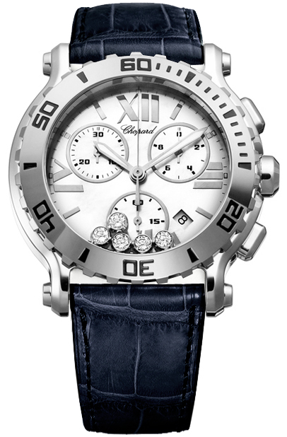 Replica Chopard Happy Sport Chronograph 288499-3001-Blue replica Watch