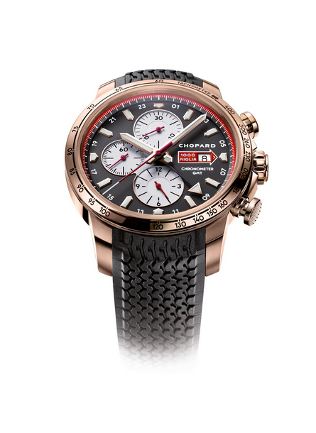 Replica Chopard Mille Miglia GMT Chronograph 2013 Rose Gold 161292-5001 replica Watch