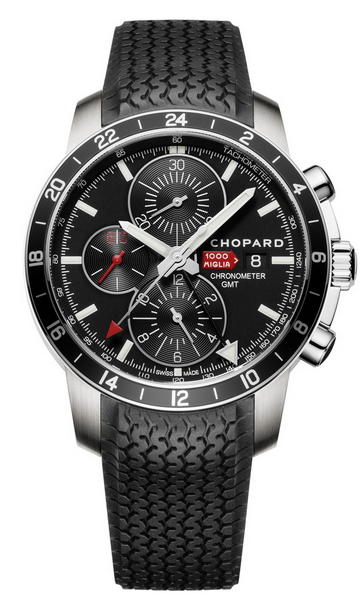 Replica Chopard Mille Miglia GMT Chronograph 2012 Steel 168550-3001 replica Watch