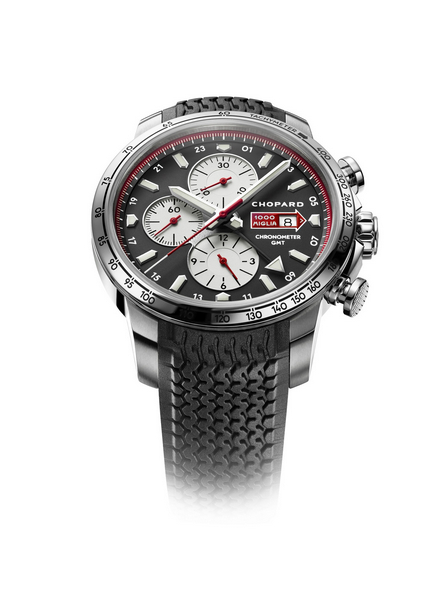 Replica Chopard Mille Miglia GMT Chronograph 2013 Steel 168555-3001 replica Watch review