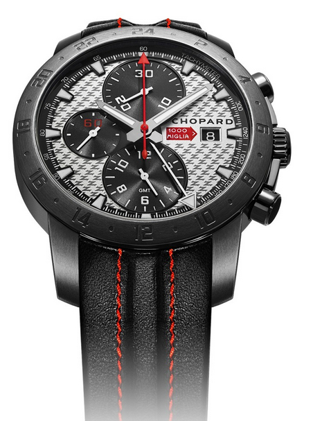 Replica Chopard Mille Miglia Zagato Chronograph Black DLC Steel replica Watch