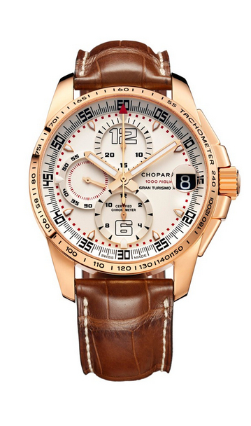 Replica Chopard Mille Miglia GT XL Chrono Rose Gold 161268-5006 replica Watch