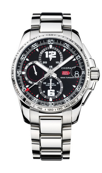 Replica Chopard Mille Miglia GT XL Chrono Steel 158459-3001 replica Watch