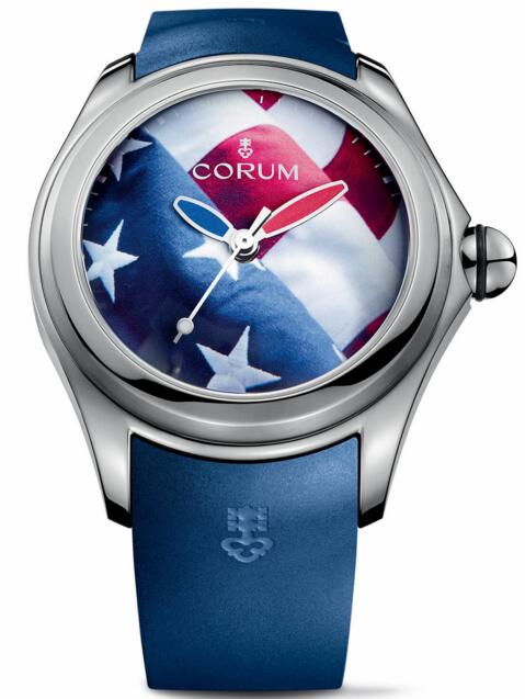 Replica Corum Bubble L403 / 03247 - 403.101.04 / 0373 US01 Flag USA watch