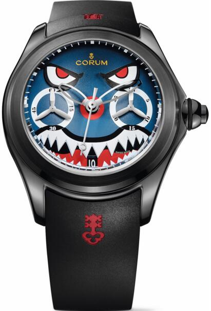 Corum Bubble Replica L771 / 03542 Dive Bomber Chronograph Monopusher watch
