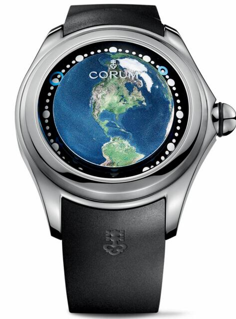 Corum Bubble 52 Earth US L390 / 03258 - 390.101.04 / 0371 UE01 Replica watch