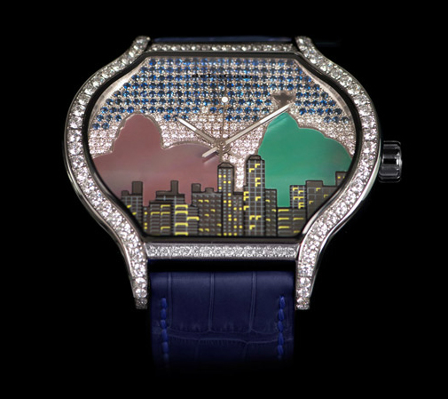 Replica DeLaCour City Metropolis Rio Replica Watch