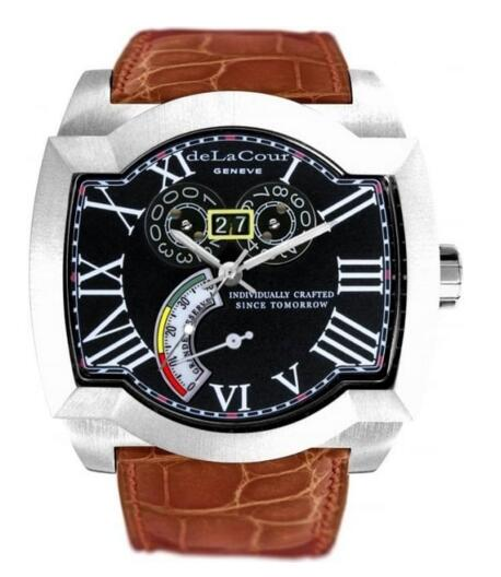 Luxury Replica DeLaCour SAQRA GRANDE RESERVE watch WAST2246-0974