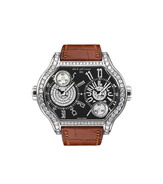 Replica DeLaCour City 2 Black WAST1901-1096 Replica Watch