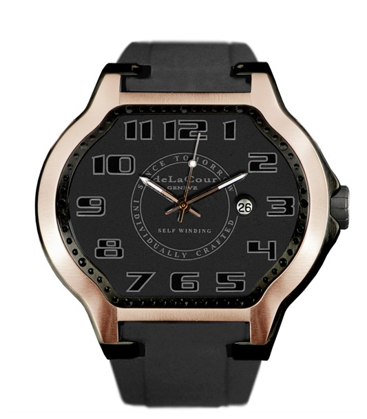 Replica DeLaCour City Ego Classic Rose Gold Ti/PVD WATP0053-1234 Replica Watch
