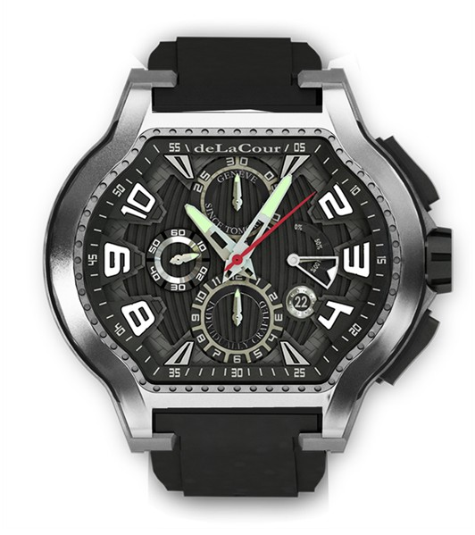 Replica DeLaCour City Ego Episode Ti/PVD WATI0054-1419 Replica Watch